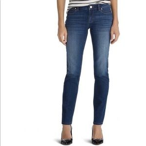 WHITE HOUSE BLACK MARKET Slim Leg Skinny Jeans